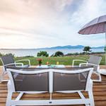 villa avec vue mer sur Ajaccio en Corse