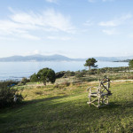villa avec grand terrain au bord de mer