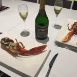 dégustation langouste et champagne villa luxe corse
