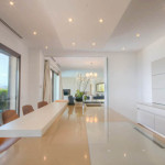 villa luxueuse avec cuisine Leicht
