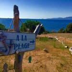 maison avec plage privée en corse